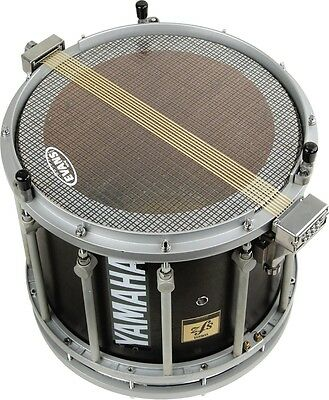 Evans Hybrid Marching Snare Side Head Clear 14