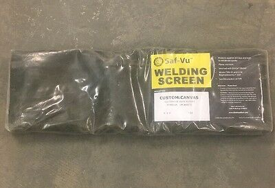 Revco Black Stallion Saf-Vu Welding Screen 12oz Canvas 4' x 5'