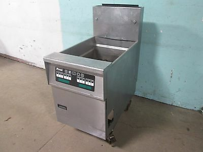 """PITCO SG18-JS"" COMMERCIAL HD LARGE CAPACITY (70-90lbs) NATURAL GAS DEEP FRYER"