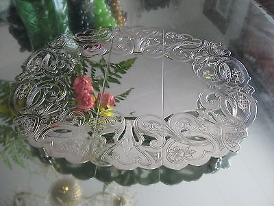Beautiful Antique Quality Silver Plate Expandable Trivet