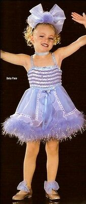 Lot Of 7 Babyface Baby Tap Dress Dance Costume Clearance Clearance Child X-Small