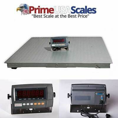 "Digiweigh Floor Scale/Heavy Duty Platform 48X48"",2500X0.5 LB,Digital Indicator,"