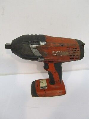 "Hilti SIW18T-A, Impact Wrench, 1/2"" drive, NO BATTERY - USED w/ NEW DRIVE"