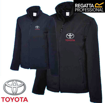 Toyota Fleece FULL ZIP REGATTA with Embroidered TOYOTA Logo. *TRACKED CARRIAGE*
