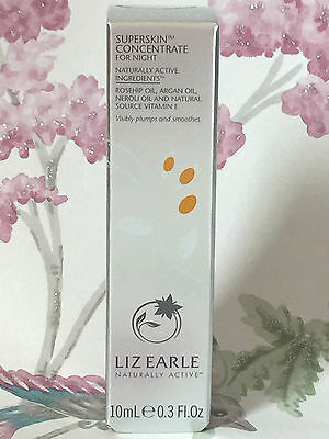 Liz Earle Superskin Concentrate For Night - 10ml Facial Oil - All Skin Types