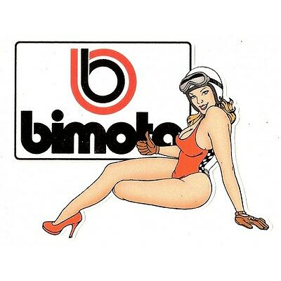 BIMOTA left Pin up Sticker gauche  °
