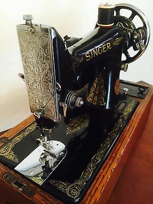 Stunning 1930s Singer 99k Electric Sewing Machine, Fully Working, Foot Pedal