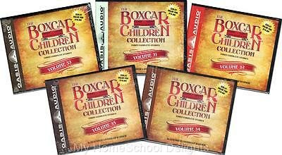 NEW 15 Audiobooks 5 BOXCAR CHILDREN COLLECTION Sets Volume 31-35  30 Audio CDs