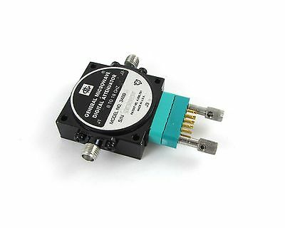General Microwave Digital Attenuator - 8 to 18 GHz - Model No. 3488