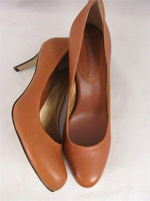 Banana Republic Women's sz 7M Brown Leather Classic Pump Heels