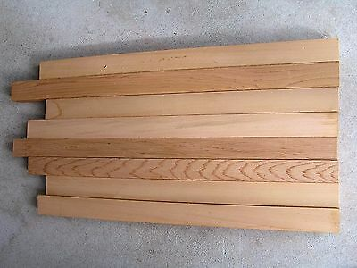 Western red  Cedar Timber offcuts -  8 pieces