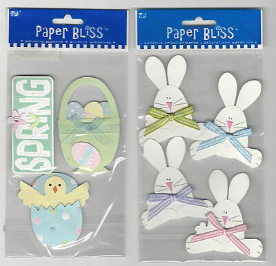 Paper Bliss 3-D Stickers Chicks