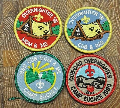 Cub and Boy Scout Patches Group of 4 Lot 5