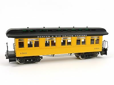 Hartland Locomotive Works Denver Rio Grande Coach Passenger Car G Scale 06217
