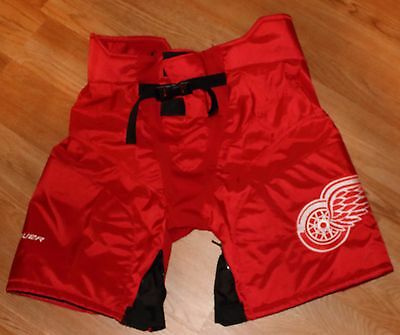 Dylan Larkin Detroit Red Wings Game Worn Stadium Series Pants Shells HTA LOA