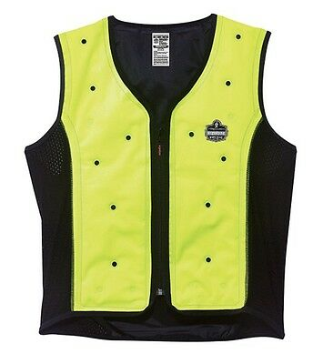 Ergodyne Chill Its 6685 Lime Dry Evaporative Cooling Vest Workwear XXL 2XL NEW