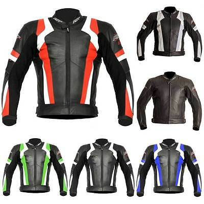 RST Blade Leather Motorcycle Motorbike Jacket All Colours & Sizes