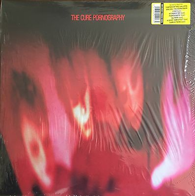 The Cure - Pornography LIMITED 2 LP VINYL SET BONUS LIVE TRACKS - SEALED 900235