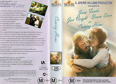 COMING HOME - Voight & Fonda - VHS - PAL - NEW - Never played!! - RARE!!