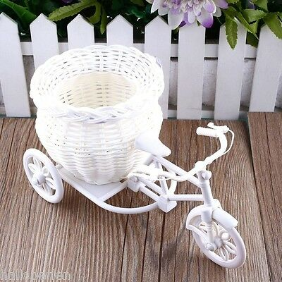 Photography Basket Props Tricycle Bicycle Flower Basket Vase Decoration Gift