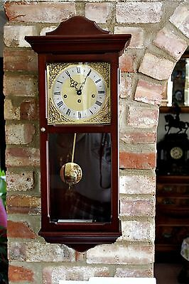 Vintage 'Metamec' Wall Clock with German 'FHS' Movement & Westminster Chimes