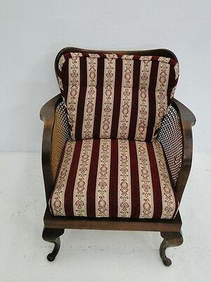 4456-Chippendale Fauteuil-Sessel-Armlehnensessel-Chippendale-Polstersessel-Stuhl