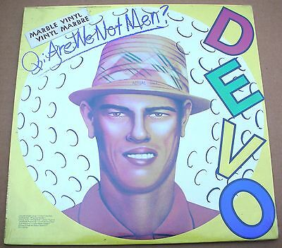 DEVO Q:Are We Not Men? Limited Edition Marble Vinyl LP NEW Factory SEALED 1978