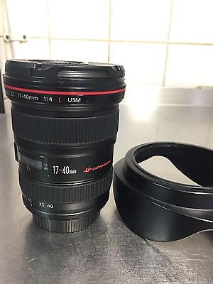 CANON EF 17- 40 mm F4L USM LENS Very Good Condition