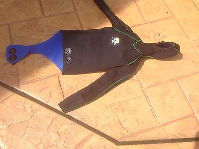 Wetsuit dive suit scuba top piece medium size