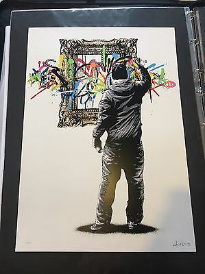 Martin Whatson Framed Main Edition Signed & Numbered SOLD OUT