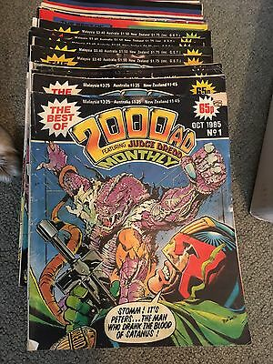 Best of 2000ad Monthly, assorted issues