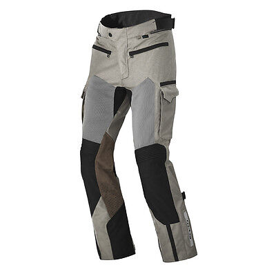 Rev'it! Cayenne Pro Motorcycle Pants Textile Trousers Sand Black Rev it Revit