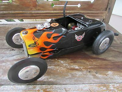 1940's McCoy 60 red head Duro-matic Hot Rod nitro tether race car complete 16 in