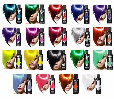 Arctic Fox Semi Permanent Hair Dye 4oz - Choose Colour