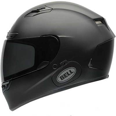 Bell Qualifier DLX Matt Matte Black Motorcycle Bike Full Face Helmet All Sizes