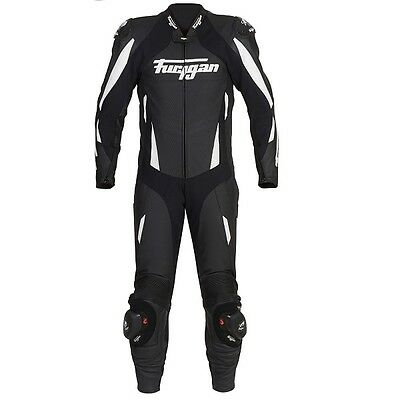 Furygan Dark Apex Perforated Vented Leather 1 One Piece Motorcycle Race Suit