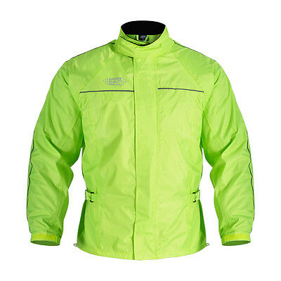 Oxford Rain Seal Fluo Motorcycle Motorbike All Weather Over Jackets All Sizes