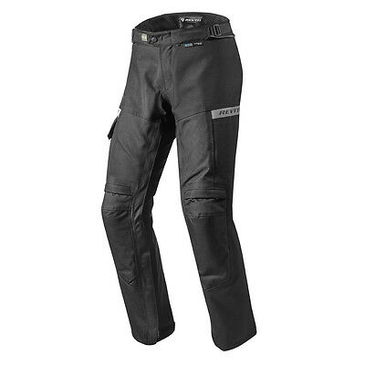 Rev'it! Commuter Textile Tex Motorcycle Pants Trousers Black Rev it Revit