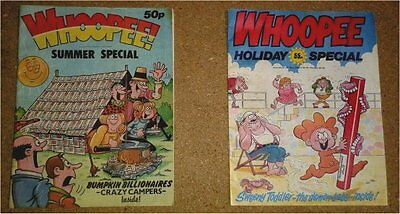 2 Vintage Whoopee Summer / Holiday Specials IPC Publishing