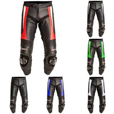 RST Blade Leather Sports Motorcycle Motorbike Trousers All Colours & Sizes