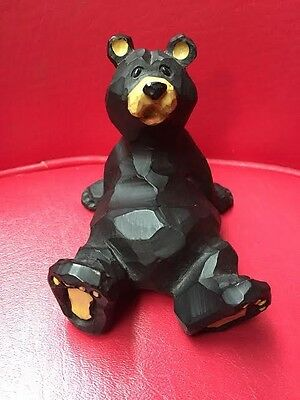 Black Bear Figurine Resin