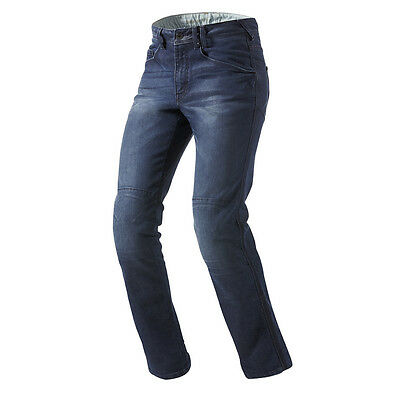 Rev'it! Vendome Motorcycle Cordura Denim Urban Biker Jeans Blue Rev it Revit
