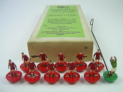 Subbuteo H/W LIVERPOOL Ref. 41 – Boxed Heavyweight Team