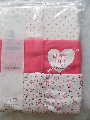 Baby girl's sleepsuits TU 3-6 months New