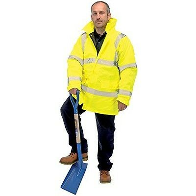Hi-vis Traffic Jacket-size XL - Draper High Visibility Jacket 84722 Size