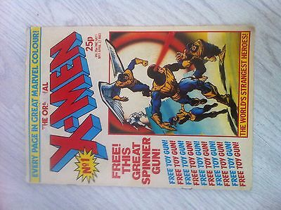 the original x-men no1 comic