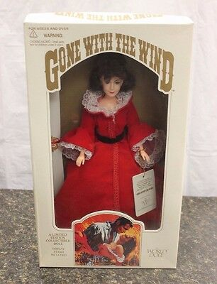 Scarlett O'hara 1989 World Doll Gone With The Wind Limited Edition Doll