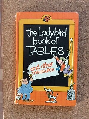 Ladybird Book of Tables and Other Measures by Penguin Books Ltd (Hardback, 1981)