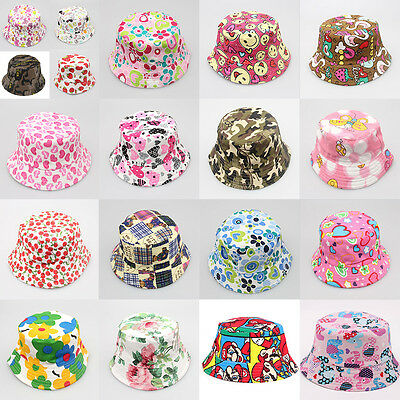 Baby Toddler Kid Sun Cap Sunshine Beach Baby Hat Flower Pots Child