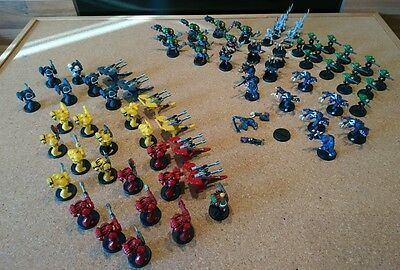 69 Space Crusade Tarantula Bundle Marines Orcs Genestealers Chaos Androids More